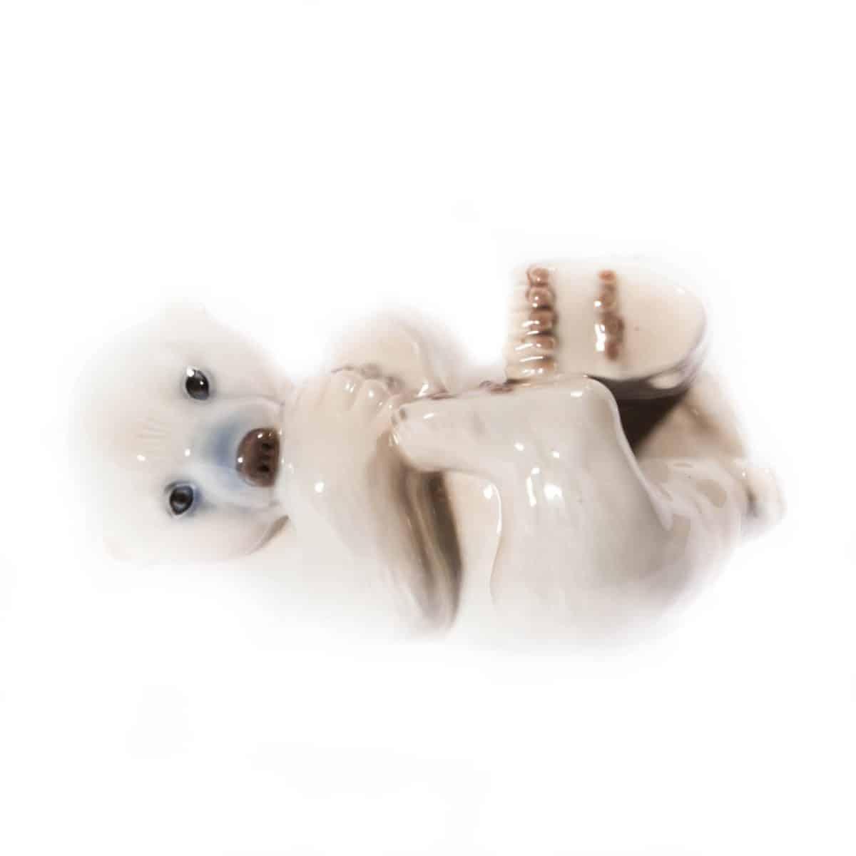 """Фарфоровый """"Белый медвежонок"""""""