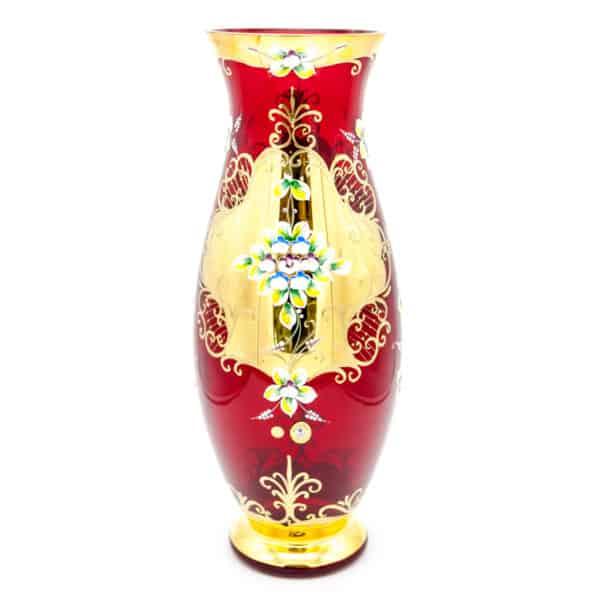 Стеклянная ваза. Богемия
