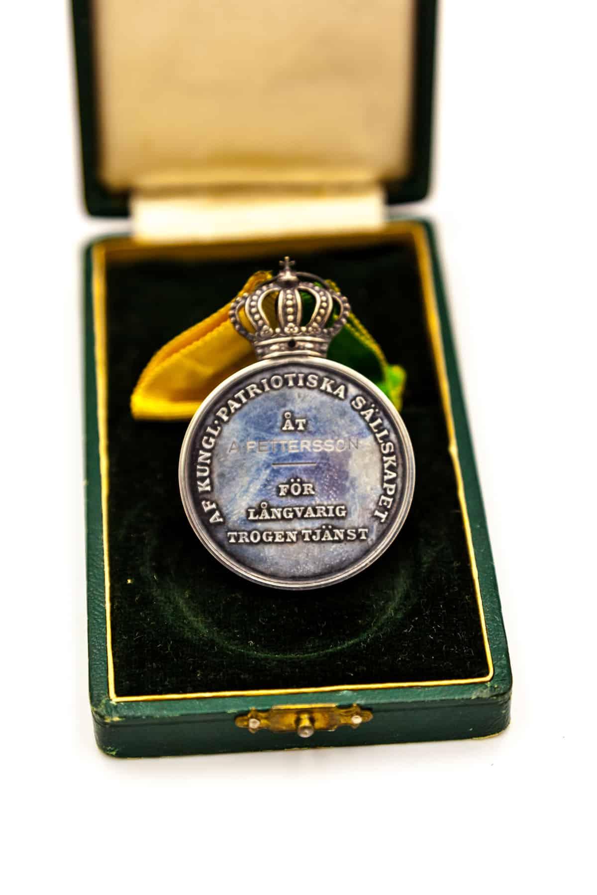 nagradnaya medal shveciya