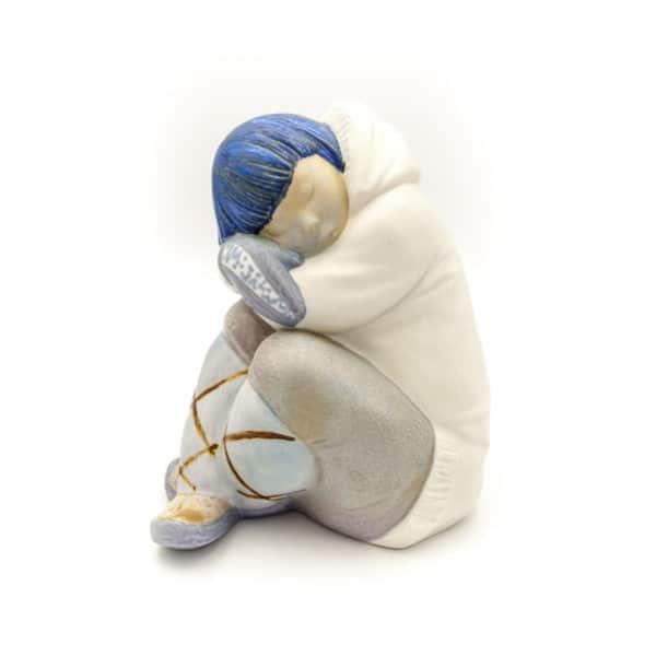 farforovaya statuetka spyashiy eskimos