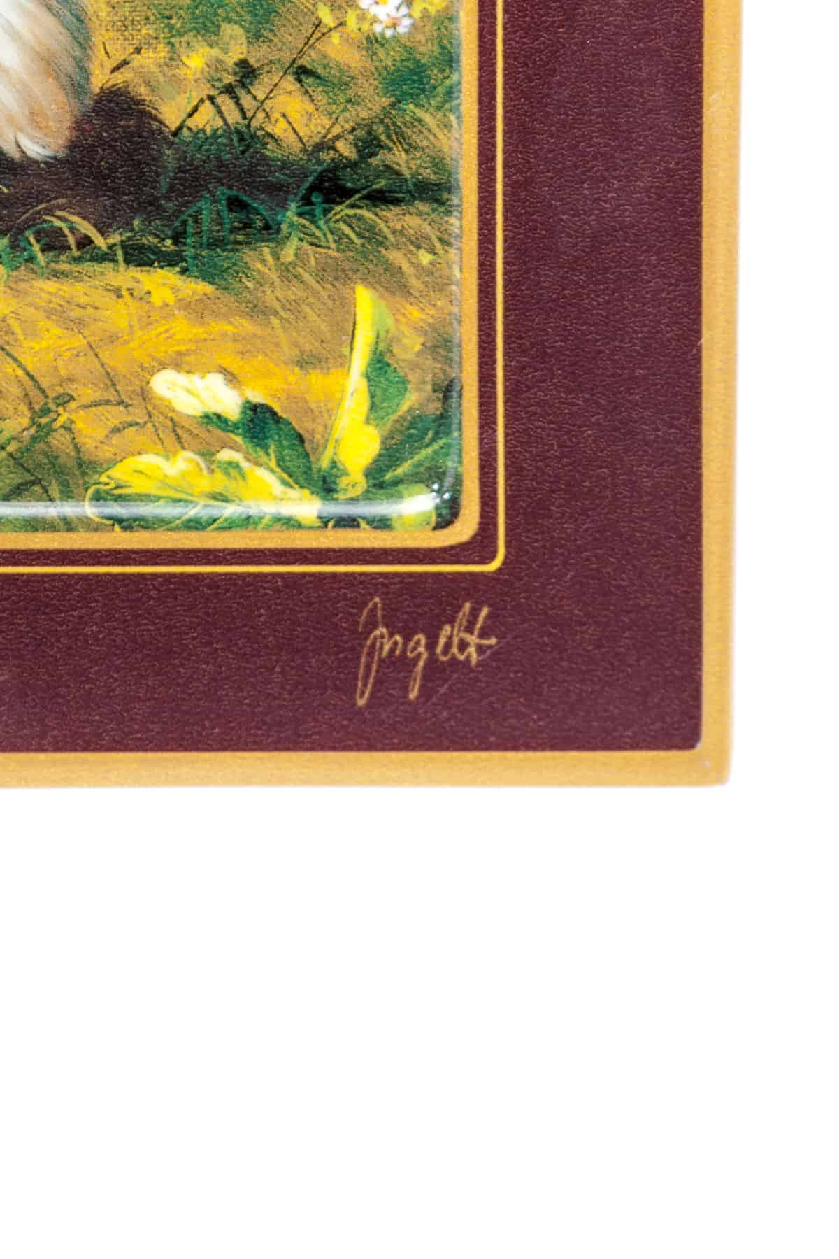 farforovay kartina kotyata vo dvore