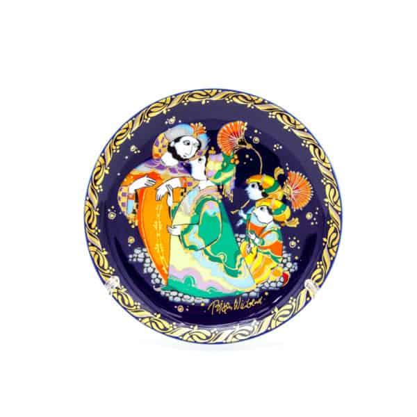 farforovaya tarelka sinbad-morehod