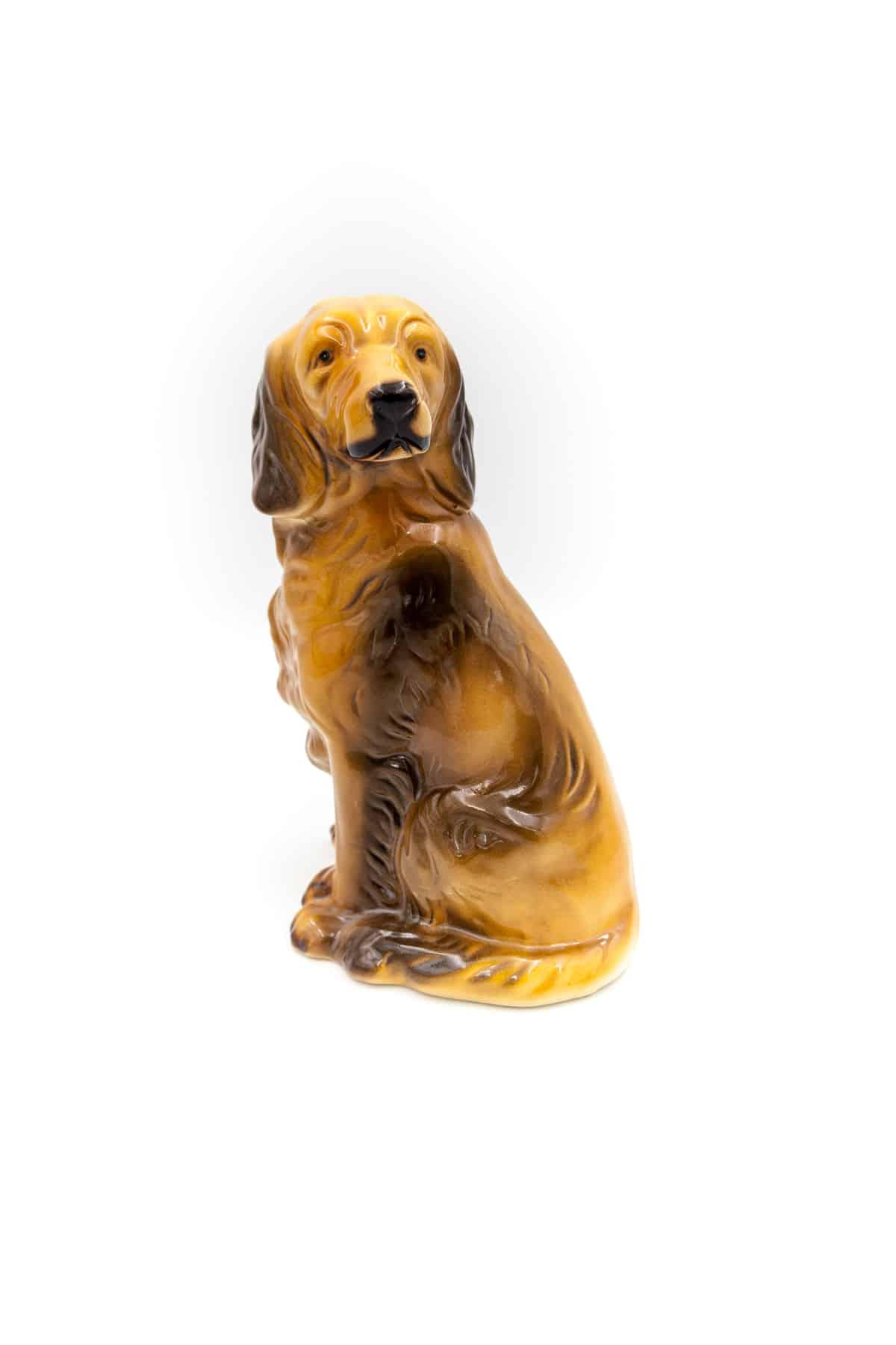 farforovaya statuetka spaniel