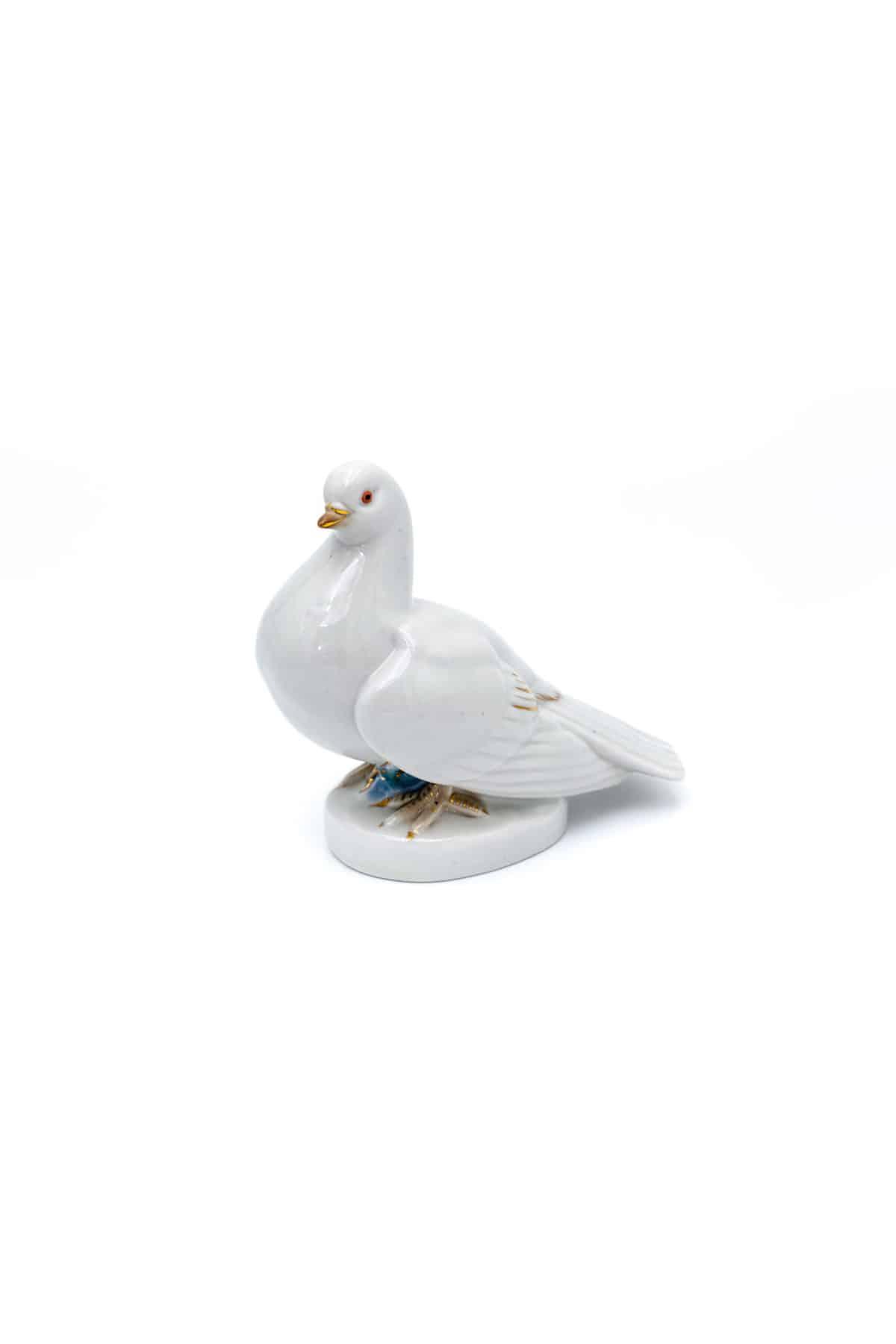 statuetka belyy golub