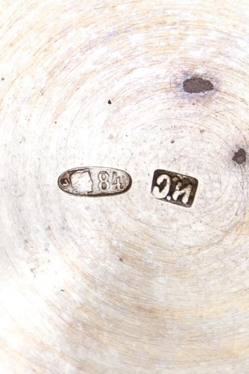 serebrynaya konfetnitsa-korzinka