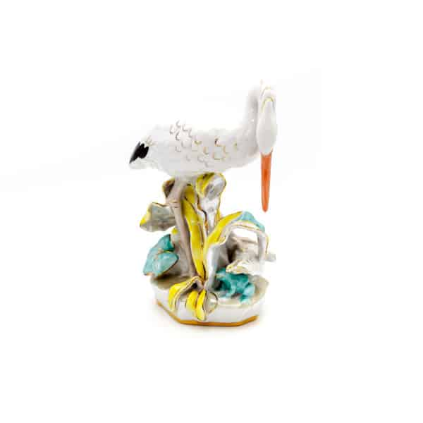 statuetka tsaplya i lyagushka