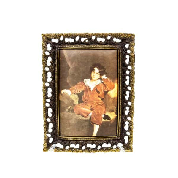 shelkografiya malchik v krasnom kamzole