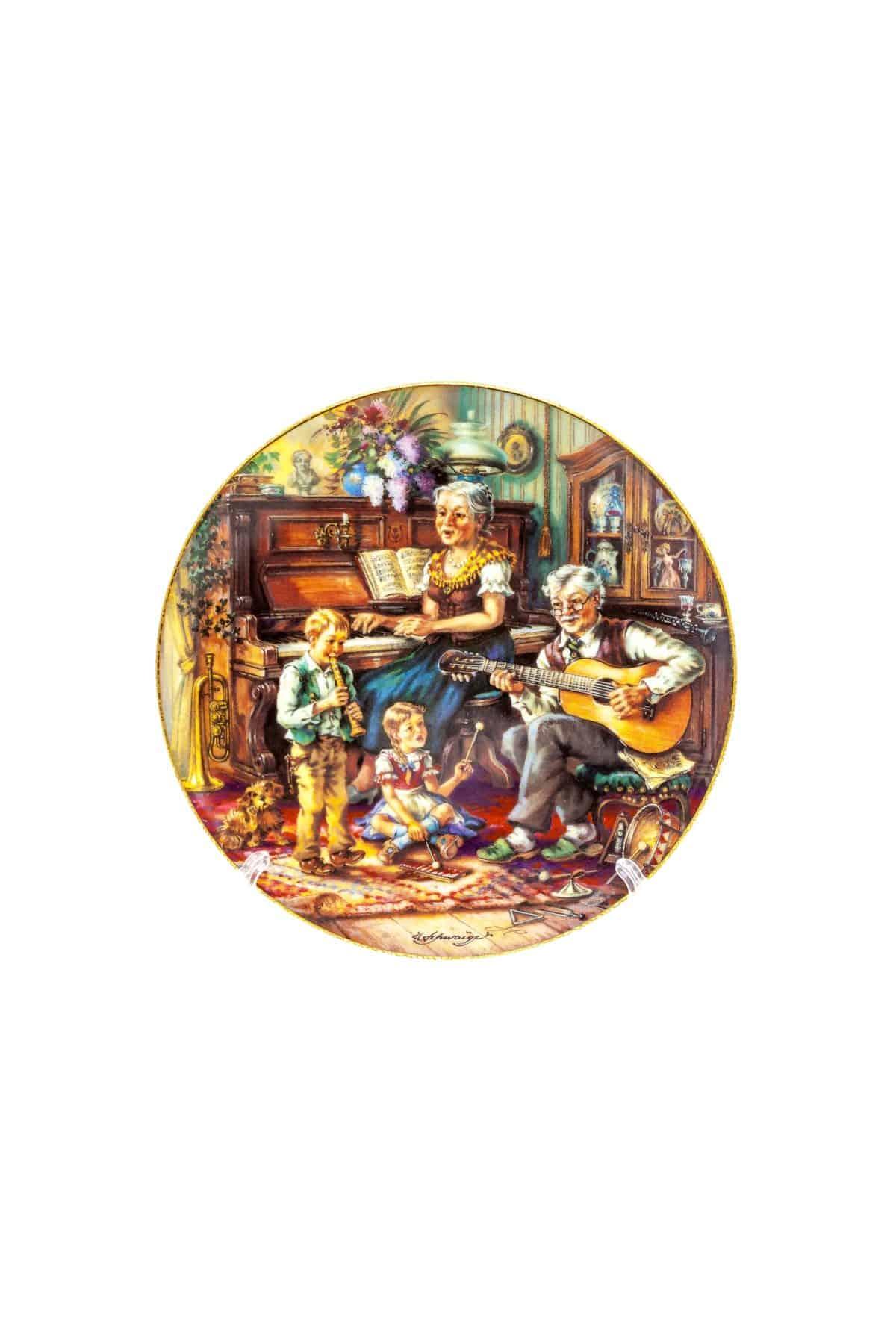 tarelka muzykalnyy chas