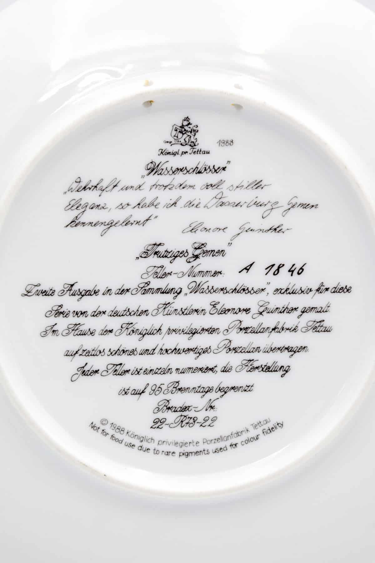 farforovaya tarelka oslepitelnaya zhemchuzhina